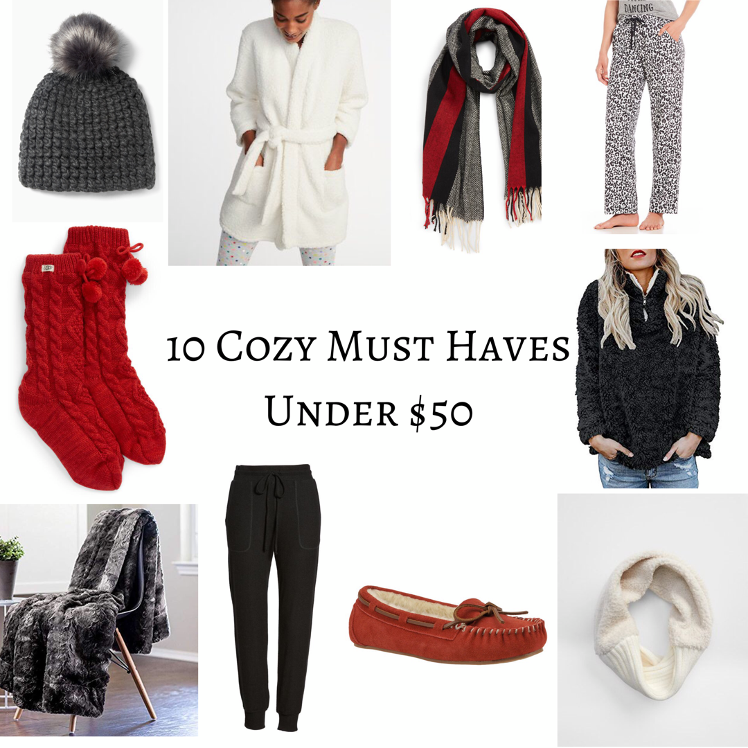 10 Cozy Must Haves: Under $50