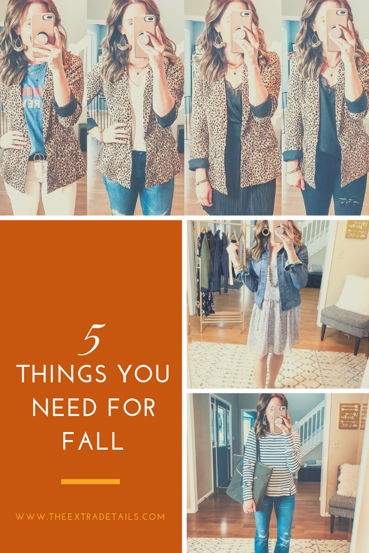 5 Things You Need for Fall