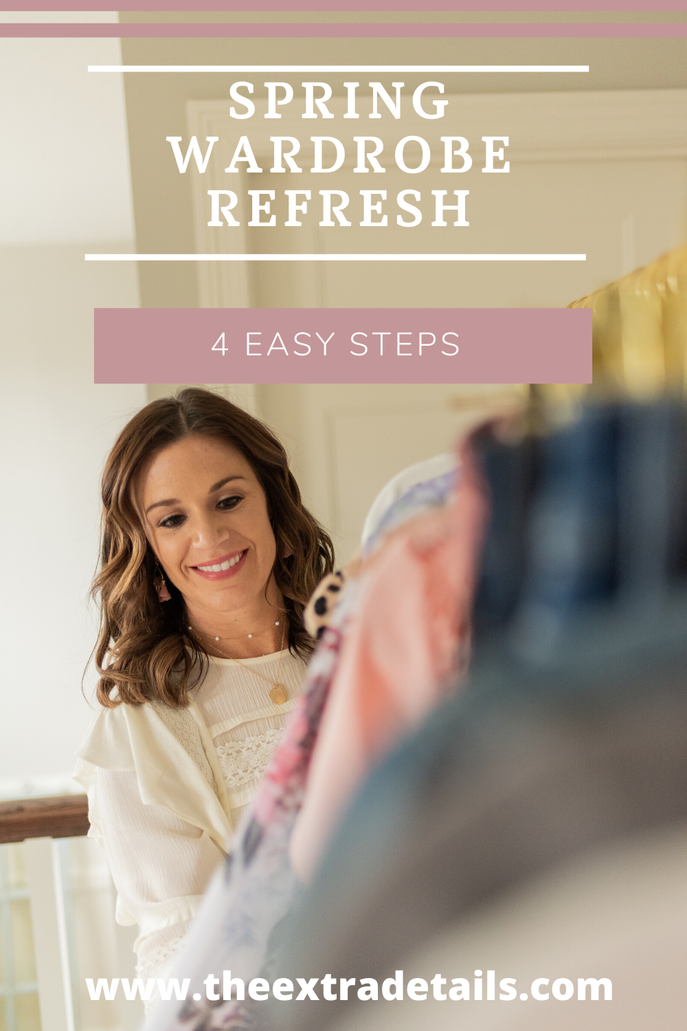 Spring Refresh: 4 Easy Steps
