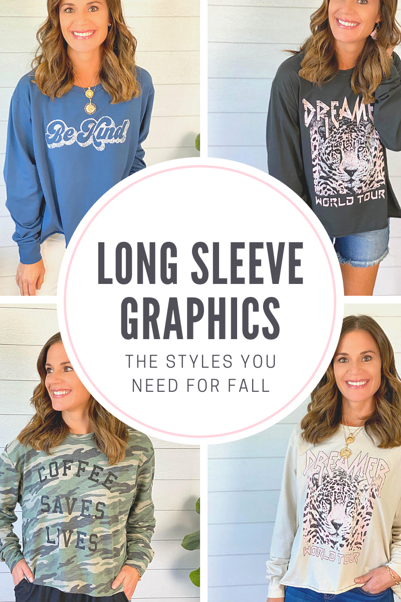 Long Sleeve Graphic Tees